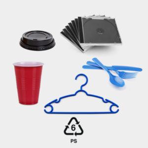 rigid plastic #6 polystyrene