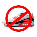 NO light-up shoes