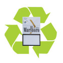 recycle cigarette pack