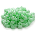 green-packing-peanuts