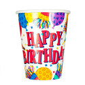 Happy Birthday Paper Cup Image