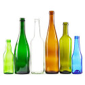 Bottles in Different Colors