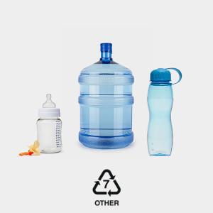 Number 7 Plastics