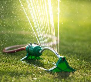 water lawn sprinkler