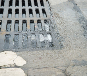 rain storm drain