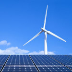 solar panels turbine