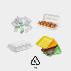 polystyrene foam plastic #6