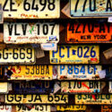 license-plates-on-wall