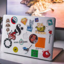 stickers-on-laptop